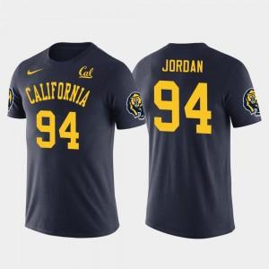 Navy New Orleans Saints Football Cal Berkeley Future Stars Cameron Jordan College T-Shirt For Men's #94
