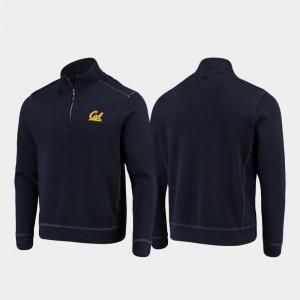 Sport Nassau For Men Half-Zip Pullover Tommy Bahama College Jacket Navy Berkeley