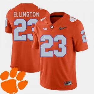 Mens 2018 ACC #23 Clemson Andre Ellington College Jersey Football Orange