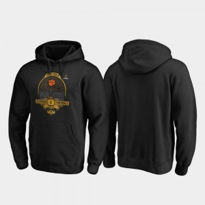 Mens College Hoodie Football Playoff French Quarter 2020 National Championship Bound Black Clemson Tigers