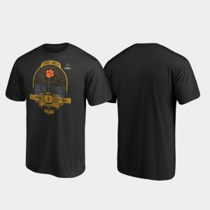 Black Clemson 2020 National Championship Bound For Men's French Quarter Football Playoff College T-Shirt