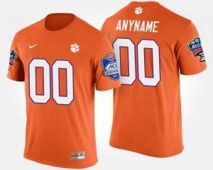 Clemson Tigers Bowl Game College Customized T-Shirts For Men's Atlantic Coast Conference Sugar Bowl #00 Orange