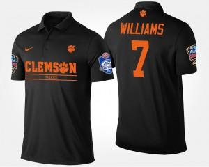 Mike Williams College Polo Bowl Game #7 CFP Champs Men's Black Atlantic Coast Conference Sugar Bowl
