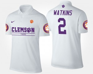 White CFP Champs Mens Sammy Watkins College Polo #2