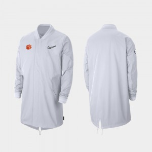 Sideline Full-Zip For Men's College Jacket CFP Champs 2019 Football Playoff Bound White