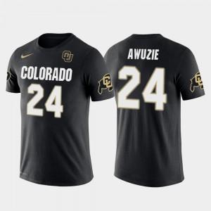 For Men Future Stars Chidobe Awuzie College T-Shirt Black Dallas Cowboys Football Colorado Buffalo #24