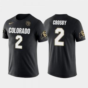 Mens Mason Crosby College T-Shirt Colorado Buffaloes Future Stars Black Green Bay Packers Football #2