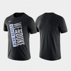 Just Do It Black College T-Shirt Men Basketball Performance Duke