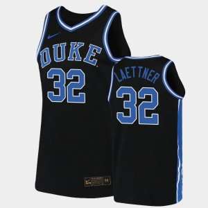2019-20 Basketball #32 Duke For Men Christian Laettner College Jersey Black Replica