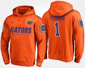 College Hoodie No.1 Orange #1 For Men's Florida Gator