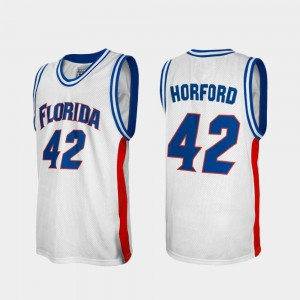 For Men Al Horford College Jersey Alumni Gators White #42 Basketball