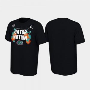 Verbiage 2019 Orange Bowl Bound Florida Gators College T-Shirt For Men Black
