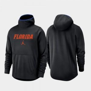 University of Florida Black Spotlight Basketball Team Logo Pullover For Men College Hoodie