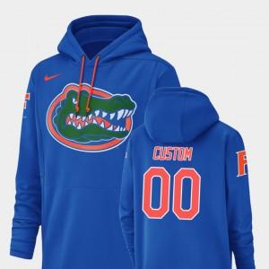 Champ Drive #00 University of Florida Football Performance Royal College Custom Hoodies For Men's