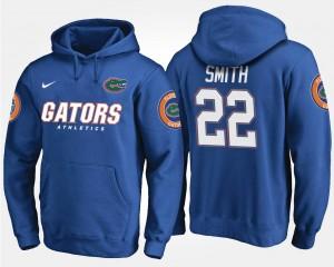 #22 Florida Gator Mens Emmitt Smith College Hoodie Blue