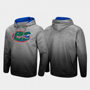 Sitwell Sublimated Florida Pullover Heathered Gray College Hoodie Men