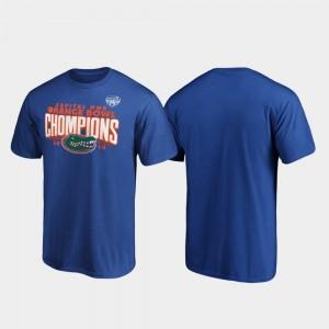 Royal 2019 Orange Bowl Champions College T-Shirt Men's Gator Receiver
