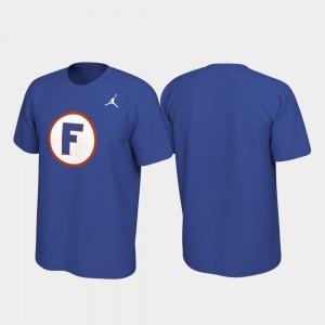 Royal Alternate Jersey University of Florida College T-Shirt Men Performance