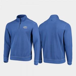 Half-Zip Pullover Tommy Bahama College Jacket Sport Nassau Florida Gator Royal For Men