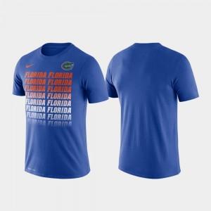 University of Florida Performance Fade Royal Men's College T-Shirt