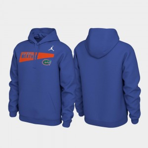 Pullover University of Florida Men Local Phrase College Hoodie Royal
