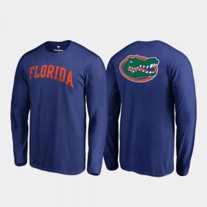 Primetime Royal Men's College T-Shirt Florida Gator Long Sleeve