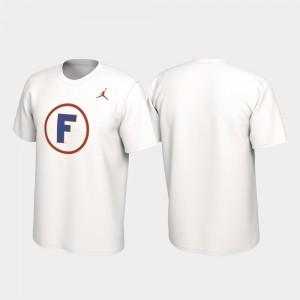 Gator Alternate Jersey Performance Mens College T-Shirt White