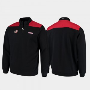 FSU Black Men Shep Shirt Quarter-Zip College Jacket