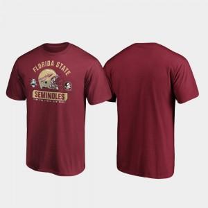 Spike Garnet Mens 2019 Sun Bowl Bound Florida ST College T-Shirt