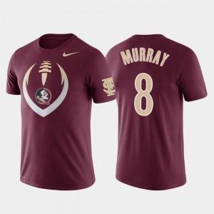 Football Icon Garnet Nyqwan Murray College T-Shirt Men Performance Florida State #8