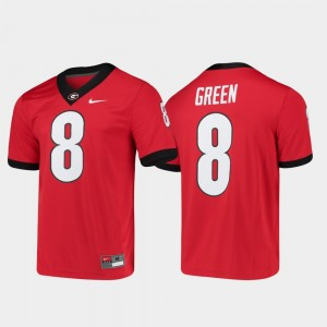 University of Georgia Game Mens #8 Alumni Player Football A.J. Green College Jersey Red