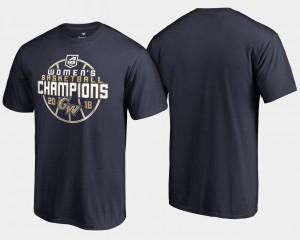 Men College T-Shirt GW Colonials Basketball Conference Tournament 2018 Atlantic 10 Champions Navy
