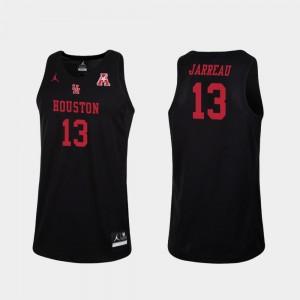 Replica Dejon Jarreau College Jersey #13 For Men Houston Basketball Black