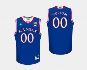 Kansas Royal #00 Basketball Men College Custom Jerseys