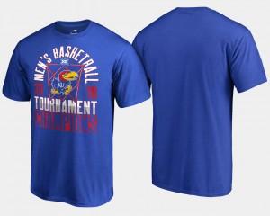 Royal KU Basketball Conference Tournament 2018 Big 12 Champions For Men's College T-Shirt