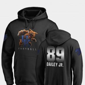 Allen Dailey Jr. College Hoodie Football Kentucky Mens Midnight Mascot Black #89