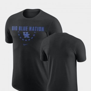 For Men Basketball Team Wildcats Black College T-Shirt