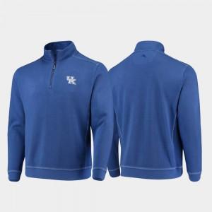 For Men Sport Nassau Half-Zip Pullover Tommy Bahama UK Royal College Jacket