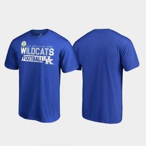 Audible College T-Shirt 2019 Citrus Bowl Bound Royal Men University of Kentucky