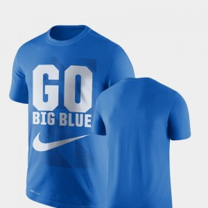 Legend Franchise Performance College T-Shirt Royal University of Kentucky Men