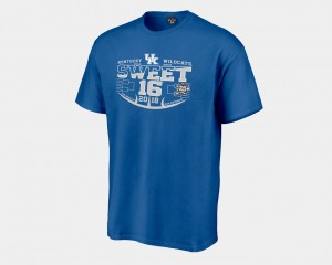 Royal Sweet 16 Bound 2018 March Madness Basketball Tournament University of Kentucky For Men's College T-Shirt