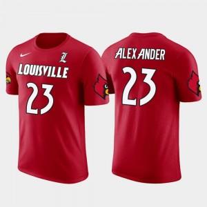 Men Cardinals #23 Future Stars Red Green Bay Packers Football Jaire Alexander College T-Shirt