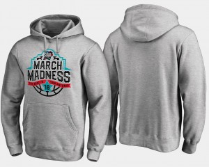 March Madness For Men Final Four Tipoff College Hoodie Basketball Tournament Gray