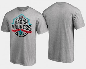 College T-Shirt Basketball Tournament Final Four Tipoff For Men Gray March Madness