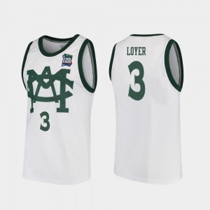Vault MAC Replica Mens Spartans 2019 Final-Four Foster Loyer College Jersey #3 White