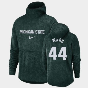 Pullover Team Logo #44 Spartans Mens Nick Ward College Hoodie Green Basketball Spotlight