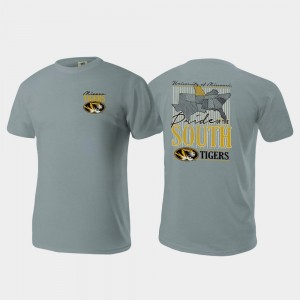 Pride of the South Comfort Colors Missouri Gray College T-Shirt Men's