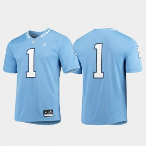 Carolina Blue #1 Mens College Jersey UNC Game