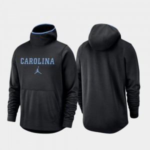 Basketball Team Logo Pullover Spotlight For Men College Hoodie Black North Carolina