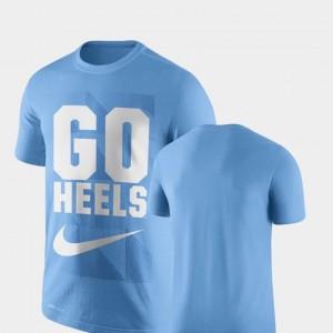 Performance UNC Legend Franchise College T-Shirt Men's Carolina Blue